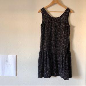Steven Alan Navy Drop Waist Dress. Size 2.